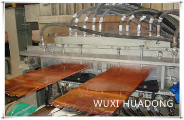 Automatic Horizontal Continuous Casting Machine 2 Strand For Alloy Copper Plate Strip