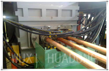 OEM Horizontal Continuous Casting Machine For Brass Rod D50mm Cooper Rod