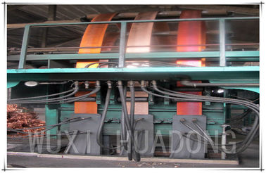 Copper Strip plate sheet Upward Continuous Casting Machine  Energy Saving