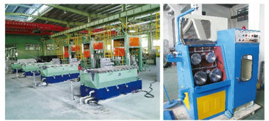 Industrial Copper Wire Drawing Machinery Electric Touch Screen Control