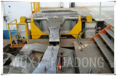 Line Frequency Cooper Brass Slab Continuous Casting Machine , CCM Strip Casting Machine