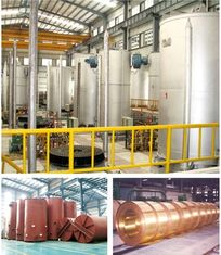 Copper Strips Bell Type Annealing Furnace 2700mm Loading Height