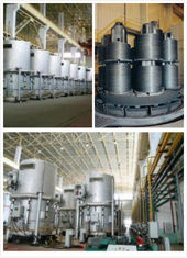 High Productivity Bell Annealing Furnace , Steel Wire Annealing Furnace