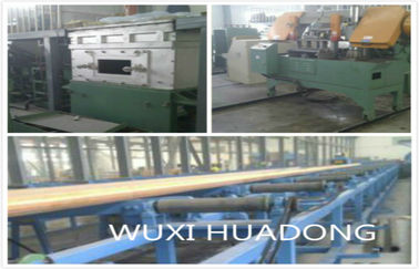 Horizontal Continous Brass Casting Machine Automatic High Efficient