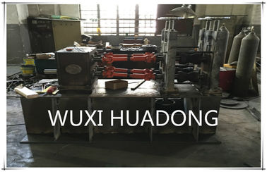 China Hydraulic Horizontal Continuous Casting Machine For 250mm Nickel Cupronickel Pipes supplier
