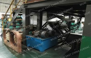 Nickel Cupronickel Strip Slab Horizontal Continuous Casting Machine Single Strand 16 mm Thickness