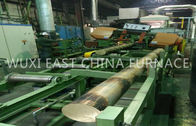 China Brass Bar D180mm Single Strand Horizontal Continuous Brass Casting Equipment company