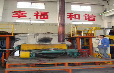 China Oxygen Free Copper Electric Induction Furnace High Frequency 1200kW distributor