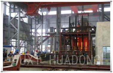China PLC Control Steel Continuous Casting Machine 3 Strand for 120×120 Billets distributor