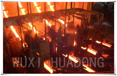 China Dual Strand Continuous Casting Steel Billet CCM Rigidity Ingot Leading Pole distributor