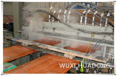 China Oxgen Free Copper Slab Continuous Casting Machine 430 kWh/t Power Consumption distributor