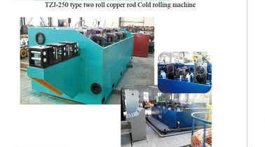 China 110kw Motor Power Two Roll Mill Machine High Efficient For Copper Rod distributor