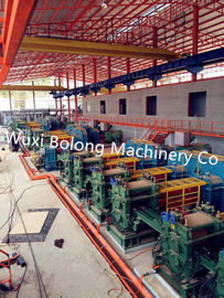 China Cut To Length 12M Hot Rolling Machine With Hydraulic Billet Pusher Grouping distributor