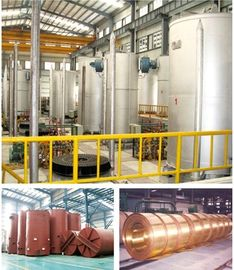 China Copper Strips Bell Type Annealing Furnace 2700mm Loading Height distributor