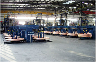 China Annnual 2000MT D17mm-D30 Upward Continuous Casting Machine 2000mt Capacity distributor