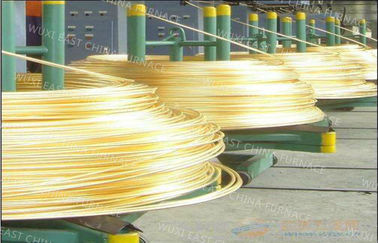 China Annnual 5,000MT D8mm Upcasting Process Brass Rod  Continuous Casting Equipment distributor